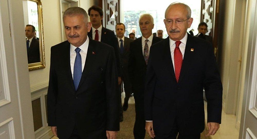 Başbakanlık Konutu'nda liderler zirvesi başladı