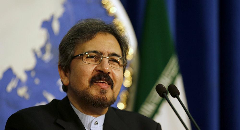 İran Dışişleri Bakanlığı Sözcüsü Behram Kasımi