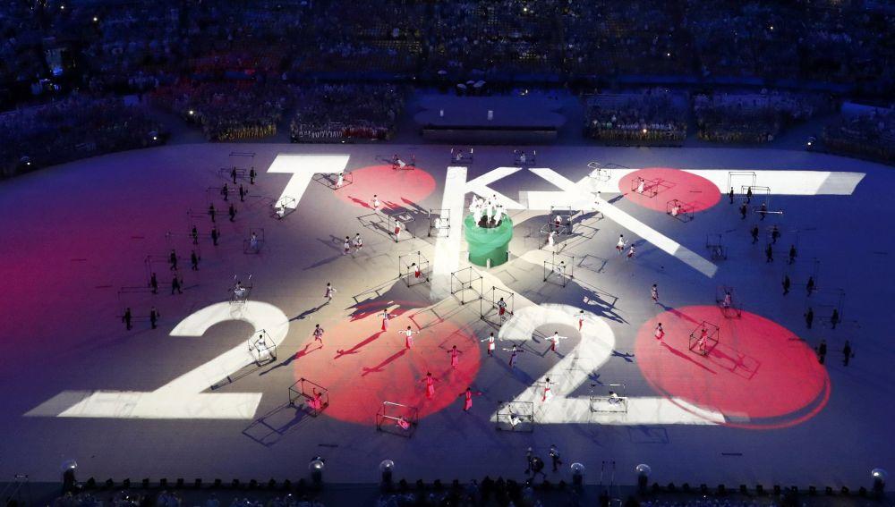 Rio Olimpiyatları'nın kapanış töreni