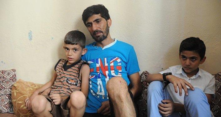 Baba Abdullah: Kendimi kaybettim. Sinir krizi geçirdim ve bayıldım. Hastaneye kaldırıldım. Komşular bize sahip çıktı yardımcı oldular çocuğumuzu gömdüler.