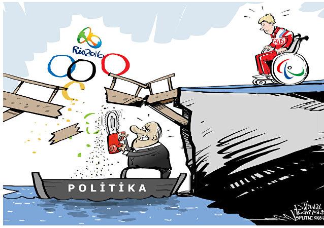 Rus atletlerin Paralimpik Oyunları'nda yarışmasına izin verilmedi
