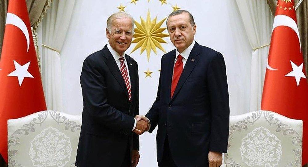 Joe Biden ve Recep Tayyip Erdoğan