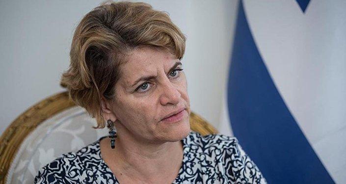 İsrail Büyükelçiliği Maslahatgüzarı Amira Oron