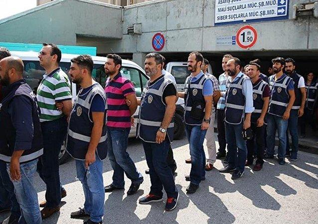 Danıştay ve Yargıtay personeli 102 şüpheli, adliyeye sevk edildi