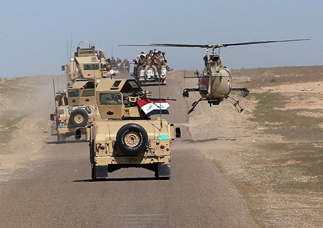 Irak'ın Anbar vilayetinde ordu güçlerinin operasyonları