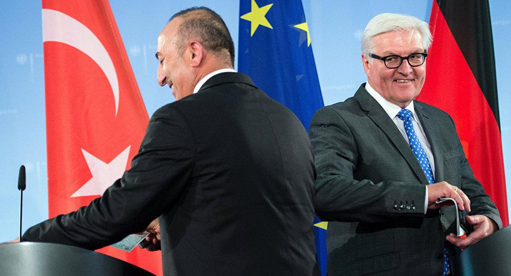Mevlüt Çavuşoğlu - Frank Walter Steinmeier