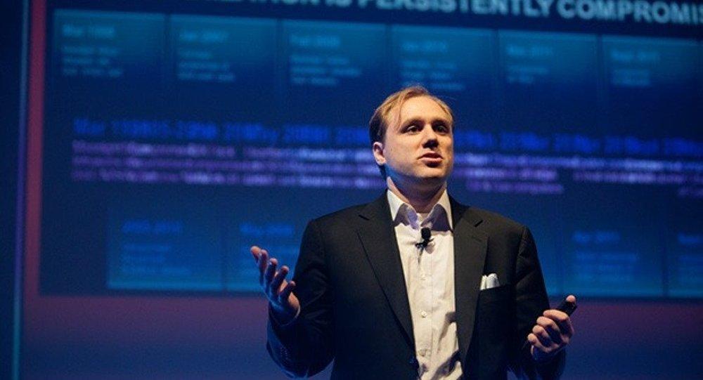 ABD merkezli siber güvenlik şirketi CrowdStrike'ın yöneticisi Dmitri Alperovitç