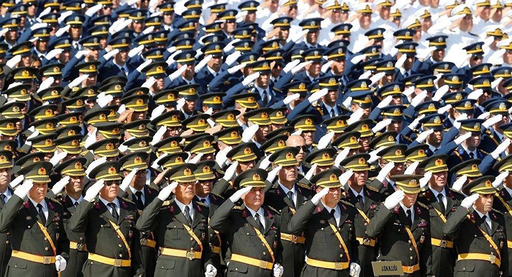 30 Ağustos Zafer Bayramı ve Türk Silahlı Kuvvetleri Günü dolayısıyla Anıtkabir'de tören düzenlendi.