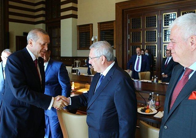 Recep Tayyip Erdoğan - Aziz Yıldırım