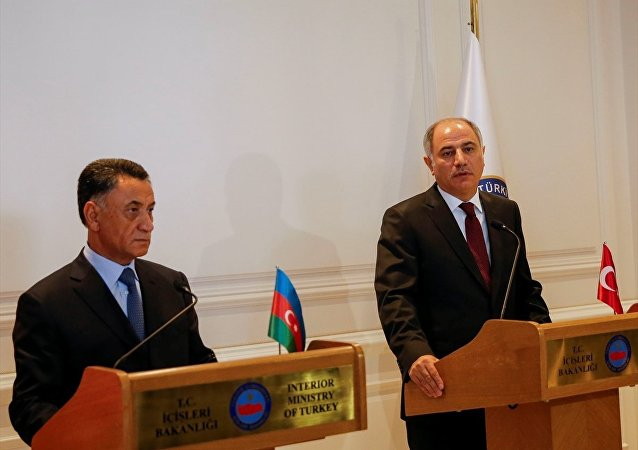 İçişleri Bakanı Efkan Ala ve Azerbaycan İçişleri Bakanı Ramil Usubov