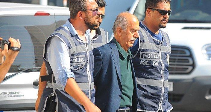 Bursa'da, FETÖ/PDY ve 15 Temmuz darbe girişimi soruşturması kapsamında tutuklanan İçişleri Bakanlığı eski müsteşarı ve eski Bursa Valisi Şahabettin Harput