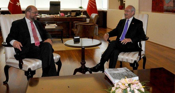 Martin Schulz - Kemal Kılıçdaroğlu