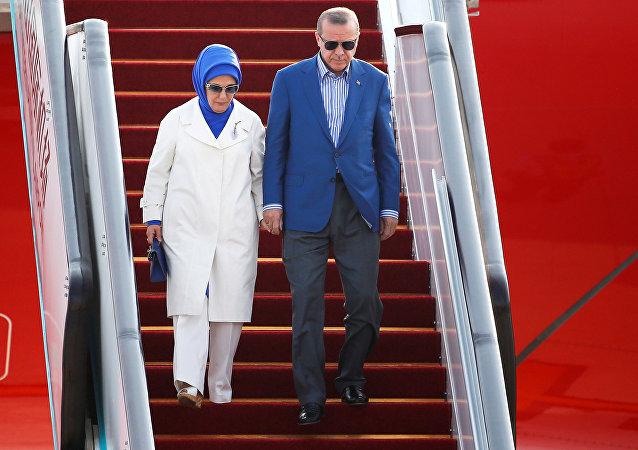 Recep Tayyip Erdoğan - Emine Erdoğan / G20