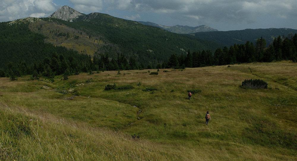 Kosova - Karadağ sınırı.