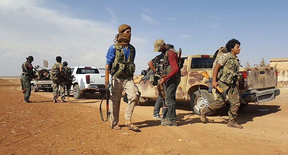 ÖSO birlikleri Çobanbey çevresinde IŞİD militanlarının bulunduğu bölgelere doğru hareket etti.