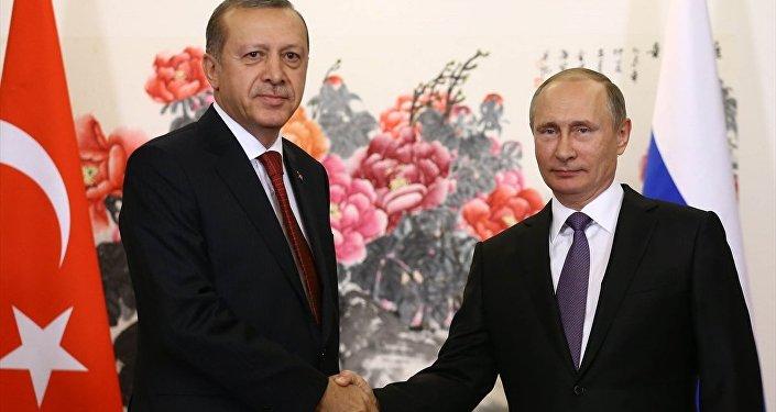 Cumhurbaşkanı Recep Tayyip Erdoğan ve Rusya Devlet Başkanı Vladimir Putin.