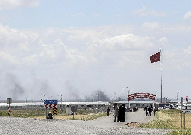 Türkiye Suriye Sınırı