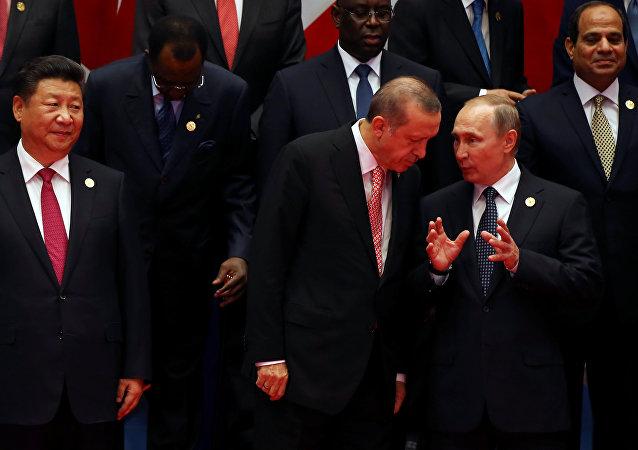 Putin, Şi Cinping, G20
