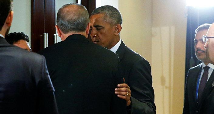 Recep Tayyip Erdoğan - Barack Obama