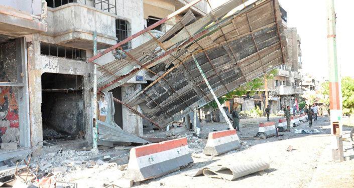Suriye'de patlama / Humus