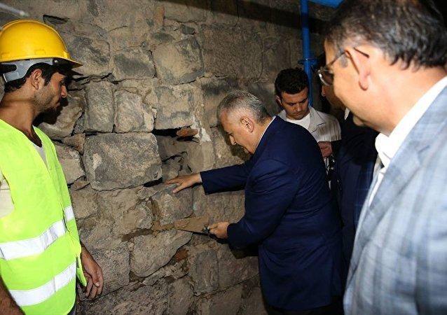 Başbakan Binali Yıldırım Diyarbakır Sur'u ziyaret etti