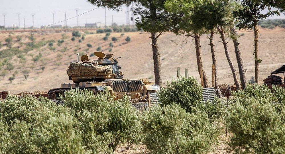 Türk tankları Suriye topraklarında