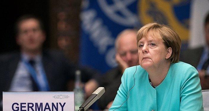 Merkel G20 Zirvesi'nde