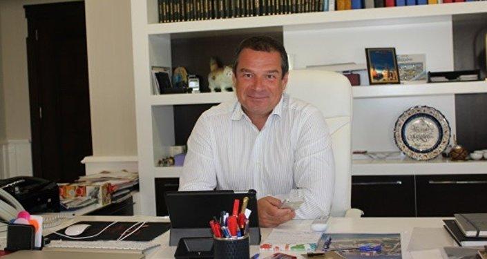 Rus Tez Tour şirketinin Müdürü Aleksandr Sinigibskiy