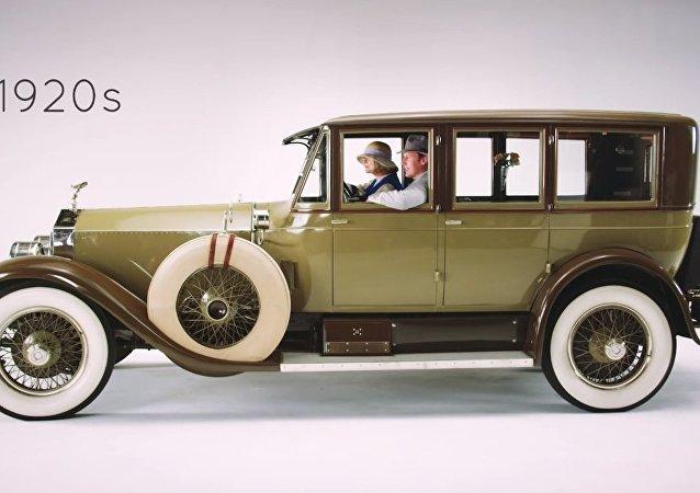 Lüks arabaların 100 yıllık değişimi