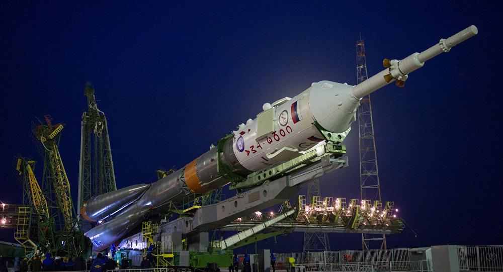 The Soyuz TMA-20M spacecraft