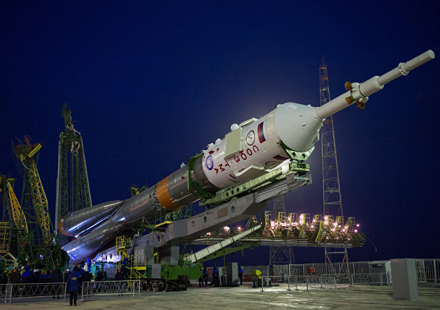 The Soyuz TMA-20M spacecraft