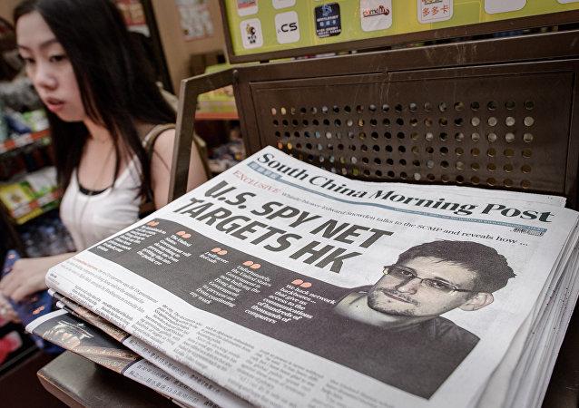 Edward Snowden - Hong Kong