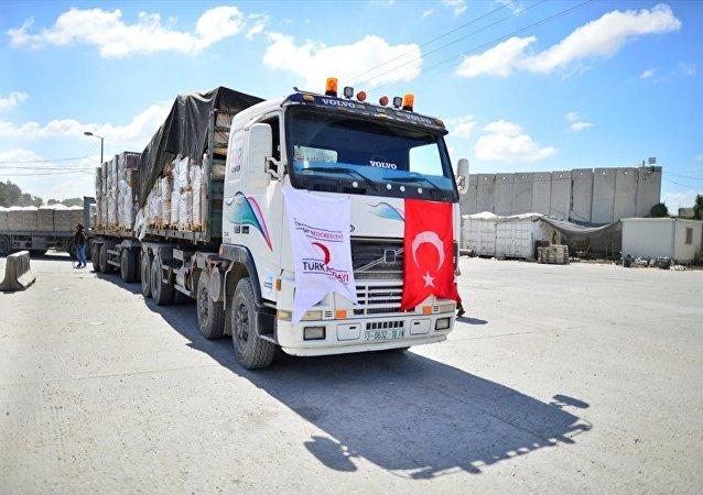 Gazze yardım Eclips