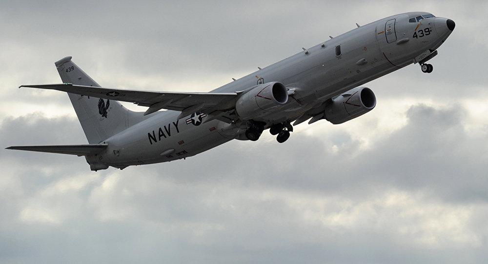 ABD Donanması'na ait Boeing P-8 Poseidon casus uçağı