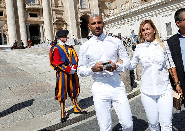 Ricardo Quaresma Vatikan'da