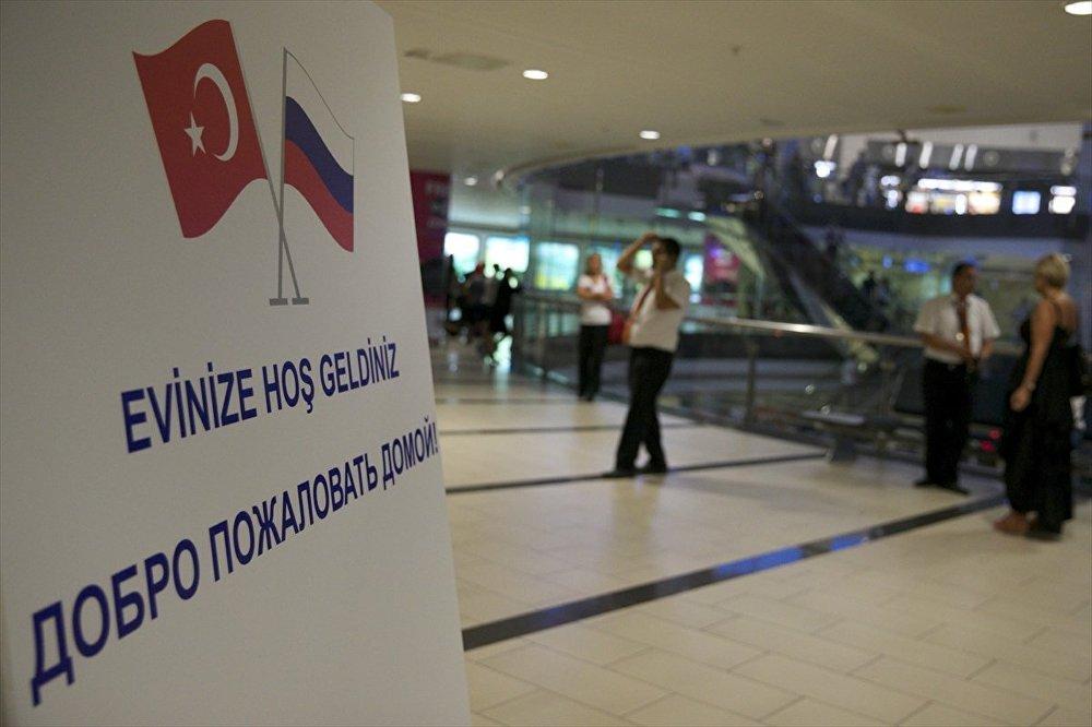 Rusya- Türkiye- charter