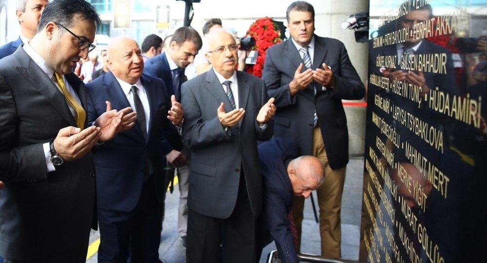 Atatürk Havalimanı saldırısında ölenler için anıt