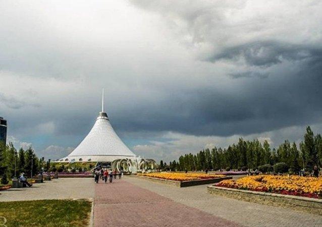 Tanrı, Kazakistan'ın 'tepesinden baktı'