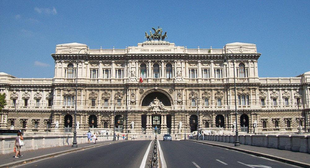 İtalya Yüksek Mahkemesi'ne ev sahipliği yapan Roma'daki Adalet Sarayı