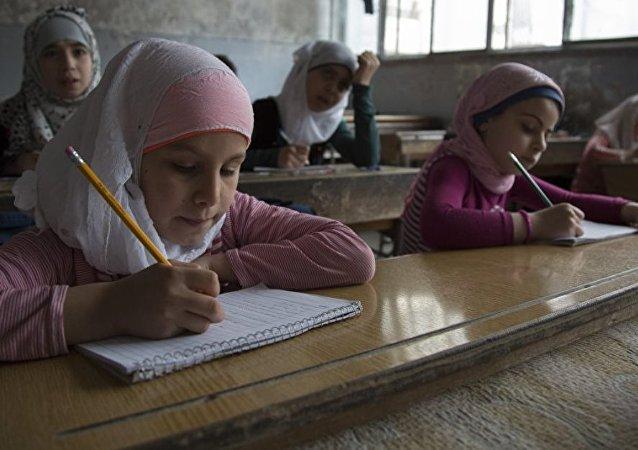 Suriyeli öğrenciler
