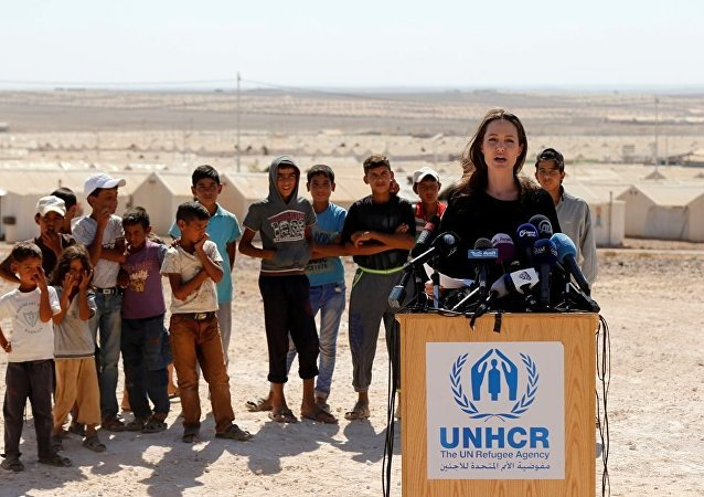 Angelina Jolie, Ürdün