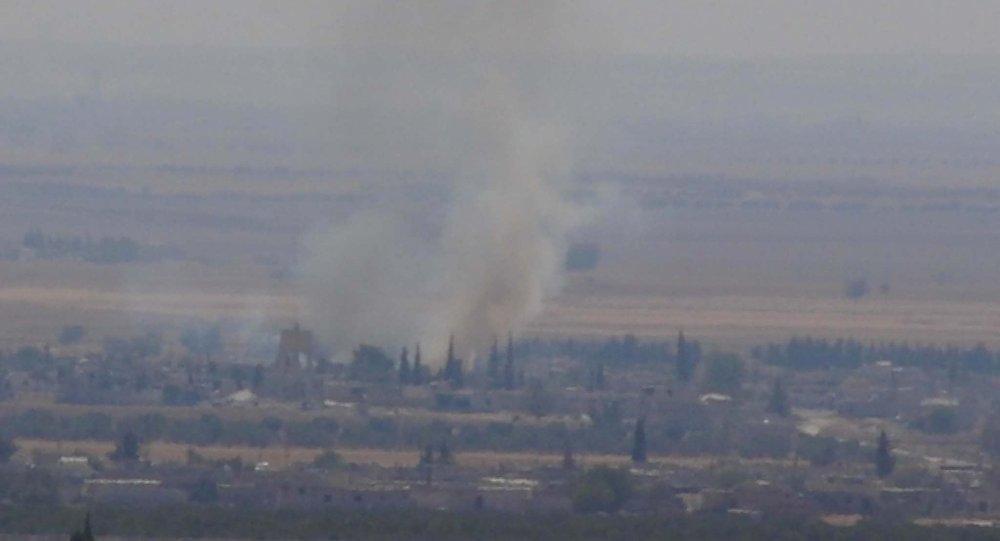 Kilis karşısına bombalar yağdırıldı