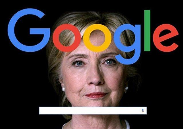 Google, Hillary Clinton