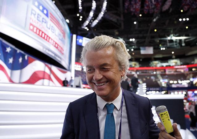 Hollandalı aşırı sağcı Özgürlük Partisi (PVV) lideri Geert Wilders