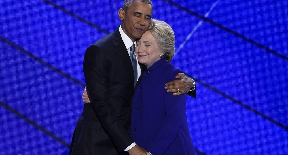 Barack Obama ve Hillary Clinton