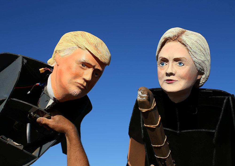 Trump- Clinton