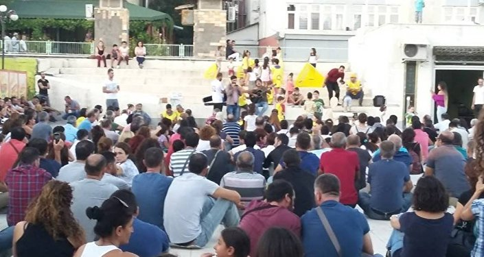 Tunceli öğretmen protesto