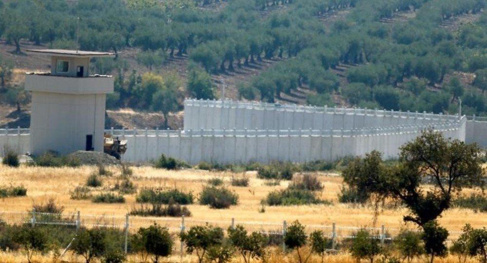 Türkiye - Suriye sınırı / Kilis / duvar