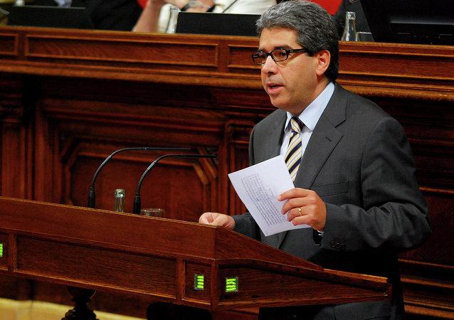 Katalonya özerk yönetiminin eski Başkan Yardımcısı Francesc Homs