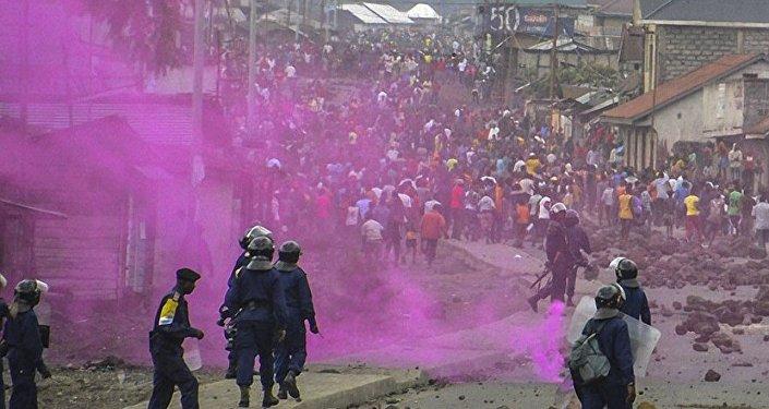 Demokratik Kongo Cumhuriyeti çatışma